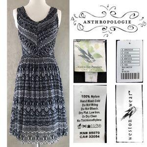 Weston Wear NEW Pleated Pullover Vera Dress MEDIUM